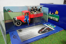 camion MINIATURE TINTIN CAMION DE POLICE CHICAGO 1/43 HERGE MOULINSART 2118041