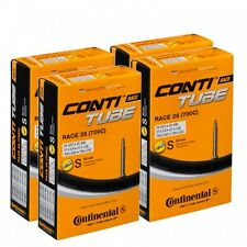 2 x Continental RACE 28 700c 18/25 inner tube 60mm valve 700c long valve presta