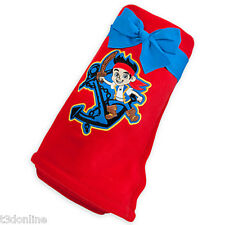 DISNEY JAKE PIRATE  & THE NEVERLAND PIRATES FLEECE THROW KIDS BOY BLANKET LARGE