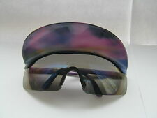 New Festival Indie Vintage 1980s Peaked Sun Visor Sunglasses BNWT