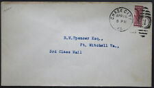Cover - True 3 Cent Bisect to 1 1/2 Ct 3rd Class Mail rate - Chase Va S30