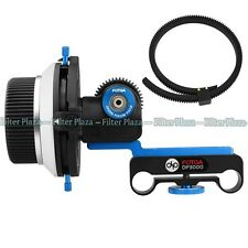 FOTGA DP3000 DSLR Follow Focus A/B Stops for 15mm Rod Rig 600D 5D2 5D3 GH2 D7100