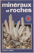 MINERAUX ET ROCHES FRANCE LOISIRS + PARIS POSTER GUIDE