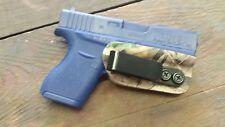 Kydex Rt/Lt handed Minimalist Concealment Holster Glock 43 Advantage camouflage