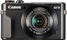 Canon - PowerShot G7 X Mark II 20.1-Megapixel Digital Video Camera - Black