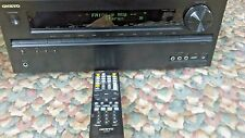 Onkyo TX-NR509 5.1 Channel Network A/V 5.1 Channels Receiver  Bundle For Parts