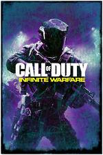 "Abstract Grunge Call of Duty Infinite Warfare Poster Gaming Art Print 24"" x 36"""