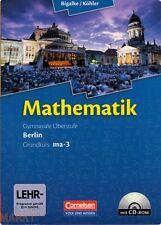 MATHEMATIK Gymasiale Oberstufe Berlin Grundkurs ma-3 inkl. CD-ROM 2011 Schulbuch
