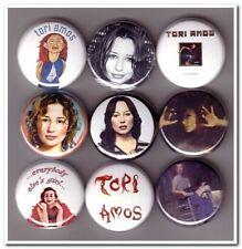TORI AMOS Buttons Pins Badges 9 pinback lot piano music little earthquakes