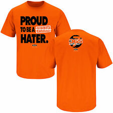 Proud to Be a Steelers Hater - Bengals Fan T-Shirt - L - Orange