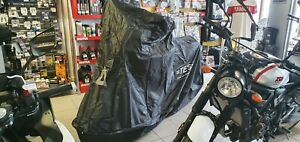 TES FULLY ENCLOSED MOTORCYCLE PROTECTIVE ALL WEATHER COVER UNLINED SIZE MEDIUM