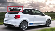 VW VOLKSWAGEN POLO 6R AND POLO CROSS WRC LOOK REAR ROOF SPOILER NEW FROM 2009