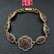 Betsey Johnson Fashion Jewelry Noble Flower Crystal Bangle Bracelet