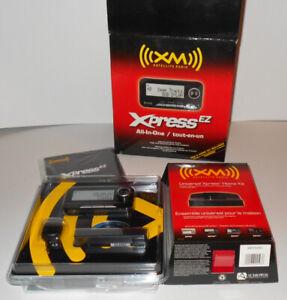 Audiovox Xpress EZ XM Satellite Radio Car & Home Kit Included - NEW