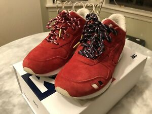 Asics Gel Lyte 3 x Kith x Moncler Red Size 9