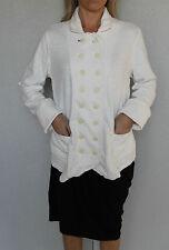 giacca plastron bianco M+F GIRBAUD britchick T L NUOVA/ETICHETTA valore