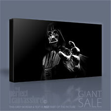 SF7-06 - BOX OFFICE SCI FI COLLECTION ICONIC VADER CANVAS ART PRINT Art Williams