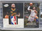 2016-17 Eternal Lebron James Black NBA Finals Game-Used Logoman Patch #1/1 E833
