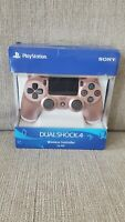 Official Sony PS4 PlayStation 4 Dualshock 4 Wireless Controller Rose Gold ~ NEW!