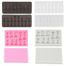 1Pc Silicone International Chess Shape Mold Kitchen Bakeware Mold for Cake Jelly