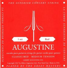 AUGUSTINE Klassik- / Konzert-Saiten, Classic Red, Medium Tension *NEU*