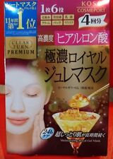 Kose Clear Turn Premium Moisturizing Royal Jelly Gel Mask(4pcsx30g) Japan Beauty