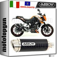 ARROW SCARICO OMOLOGATO THUNDER ALLUMINIO NERO KTM DUKE 125 2013 13 2014 14