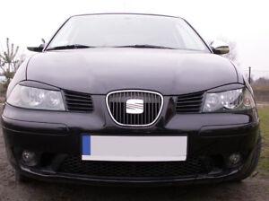 Fits Seat Ibiza 6L (2002-2008) - Eye Brows Head Light Cover Set
