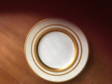 Antique Mintons for Tiffany K129 w/ Raised Gold Bands 9 inch Lunch Plate