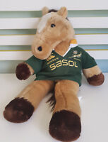 CANTERBURY HORSE SA RUGBY PROMOTIONAL TOY! 48CM TALL PLUSH TOY SOFT TOY!