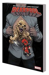 Deadpool Worlds Greatest V6 Patience Zero TP - Mutant Wade Wilson X-Men