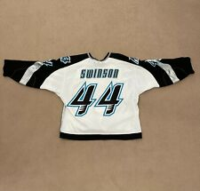 Augusta Lynx Hockey Jersey- Game Worn and Hand Signed by Wes Swinson