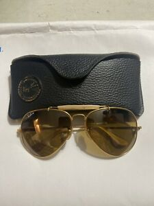"Vintage RayBan 50th Anniversary ""The General"" 1937-1987 Sunglasses"
