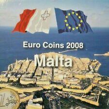 SET OFFICIAL EURO COINS 2008 - COFFRET MALTE MALTA
