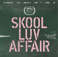 BTS SKOOL LUV AFFAIR 2nd Mini Album CD+Photo Card+115p Booklet KPOP