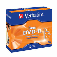 Verbatim DVD-R 8cm Matt Silver