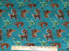 SALE GOOD DINOSAUR FABRIC! BY THE HALF YARD! DISNEY~PIXAR~ARLO~NASH~RAMSEY~POPPA