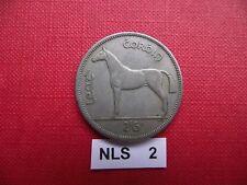 IRELAND (ÉIRE). 1955 HALF CROWN #NLS2