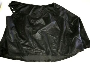 womens BREAST FEEDING NURSING COVER UP solid black FIRST YEARS SUPER CONDITION