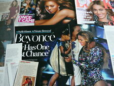 BEYONCE - MAGAZINE CUTTINGS/CLIPPINGS (REF ZG)