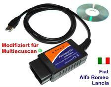 Interface Autodia pour Fiat Alfa Romeo Lancia OBD 2 Diagnostic Scanner obd2 Testeur