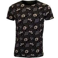 Scotch & Soda Allover Floral Print Crew-Neck Men's T-Shirt, Navy