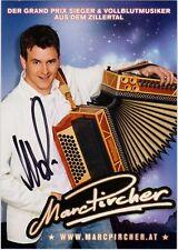 Marc Pircher Autogrammkarte Koch Universal Music original signiert 2008