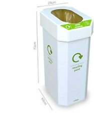 Cardboard Recycling Bin With Plastic Lid (5 Pack)