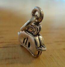 Sterling Silver 3D 13x11mm Small Kitchen Toaster Charm