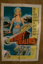 BODY STEALERS  SCI-FI  HORROR  ONE SHEET 1970
