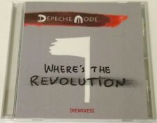 DEPECHE MODE - Where's the revolution (Remixes) (Maxi-Single, 13 tracks) 2017