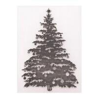 Prägeschablone Weihnachtsbaum Plastik Beule Vorlage DIY Scrapbooking Papier