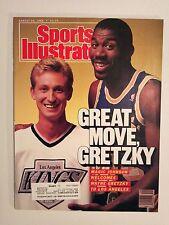 August 22 1988 Sports Illustrated  Wayne Gretzky  Magic Johnson  LA Kings Lakers