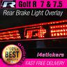 VW Golf R MK7 / MK7.5 Rear Middle High Brake Light R Logo Vinyl Decal Sticker